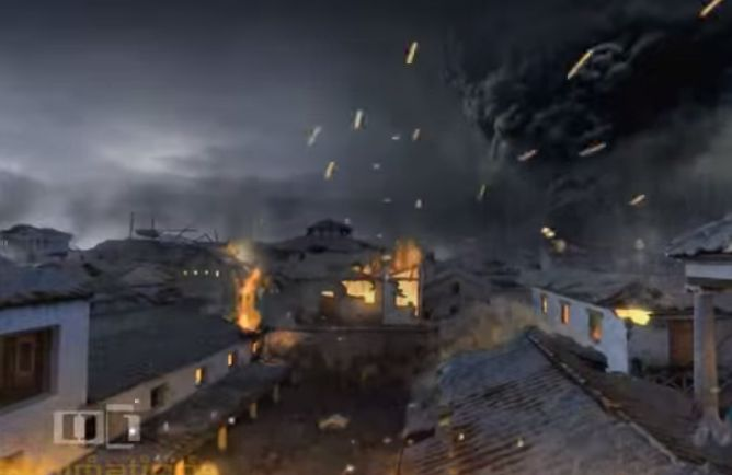 Εντυπωσιακό βίντεο με τις τελευταίες ώρες της Πομπηίας. Ψηφιακή αναπαράσταση από τη φοβερή έκρηξη του Βεζούβιου