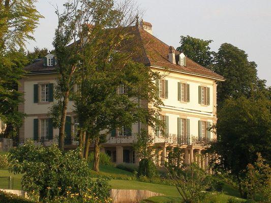 """Η βίλα """"Ντιοντάτι"""" που έμειναν το καλοκαίρι του 1816 η Μαίρη, ο Σέλλεϋ και ο Λόρδος Βύρωνας"""