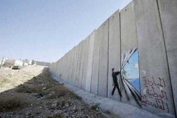 Στο τείχος μεταξύ Ισραηλινών και Παλαιστίνιων