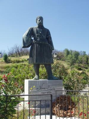Άγαλμα  του  Νικηταρά.