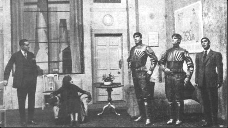 Ρομπότ. H λέξη προέκυψε από τους σκλάβους. Την επινόησε ένας θεατρικός συγγραφέας το 1921, που προειδοποίησε για την εξέλιξη των μηχανών και πολέμησε τον ναζισμό