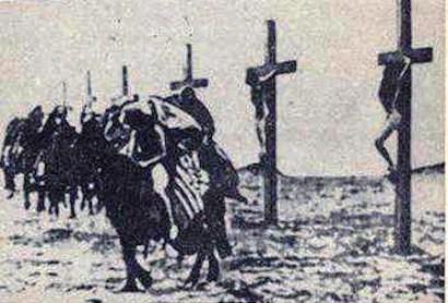Η δεύτερη φωτογραφία με σταυρωμένες γυναίκες της οποίας η γνησιότητα δεν έχει εξακριβωθεί
