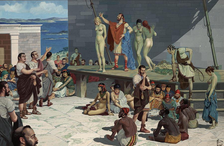 Που υπήρχαν τα μεγαλύτερα σκλαβοπάζαρα στην Αρχαία Ελλάδα. Ο τιμοκατάλογος, οι υποχρεώσεις και τα δικαιώματα των σκλάβων. Ήταν οι ηττημένοι των πολέμων και οι φτωχοί