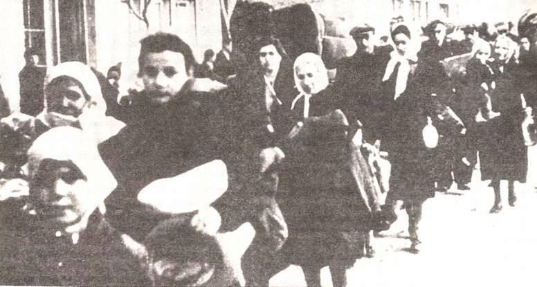 Ο αφανισμός της εβραϊκής κοινότητας της Καβάλας από τους Βούλγαρους. Τους έστελναν στο κολαστήριο της Τρεμπλίνκα στην Πολωνία και πολλοί πνίγηκαν στον Δούναβη πριν να φτάσουν εκεί