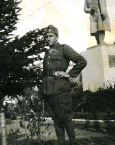 Ο Νικόλαος Λεονταρής στην Κορυτσά
