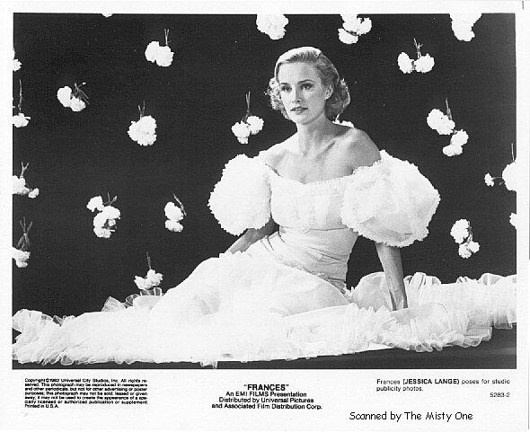 """Η Jessica Lange ως """"Frances"""""""