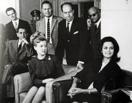 Η Κορίνα Τσοπέη και Μπόμπι Τζόνσον στη ΔΕΘ