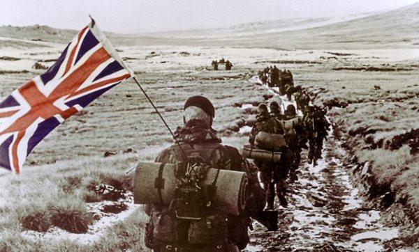 Οι Βρετανοί στα Φόκλαντ