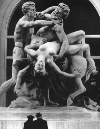 Ο Ευρυτίωνας αρπάζει την Ιπποδάμεια στο γάμο του Πειρίθους, Παρίσι, Γαλλία 1971