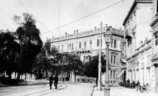 Η οδός Πανεπιστημίου το 1912, Φωτογραφικό Αρχείο Μουσείου Μπενάκη
