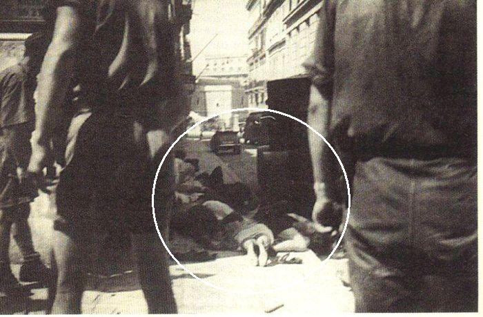 Η αιματηρή διαδήλωση της Αθήνας του 1943 να μην επεκταθεί η βουλγαρική ζώνη κατοχής σε Μακεδονία και Θράκη. Οι Γερμανοί άνοιξαν πυρ κατά χιλιάδων διαδηλωτών