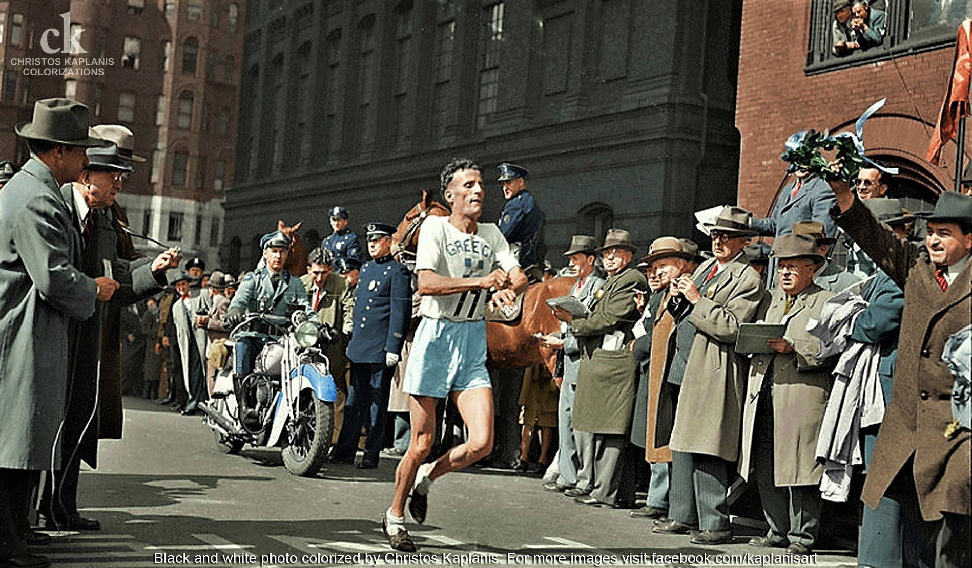 """""""Ήρθα να τρέξω για 7 εκατομμύρια πεινασμένους Έλληνες"""". Στέλιος Κυριακίδης, ο δρομέας που νίκησε το 1946 στον Μαραθώνιο της Βοστώνης και ζήτησε να βοηθήσουν την Ελλάδα"""
