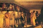 Phidias-Showing-the-Frieze-of-the-Parthenon-700x461
