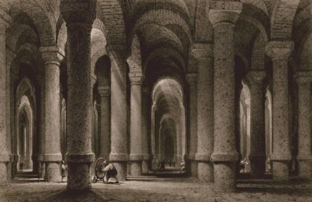 Constantinople Binbirdirek Cistern