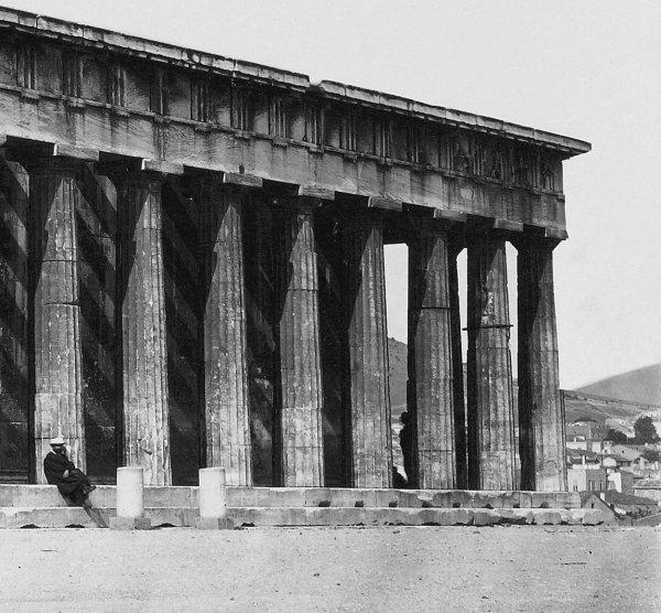 Ο ναός φωτογραφημένος από τον Felix Bonfils το 1875