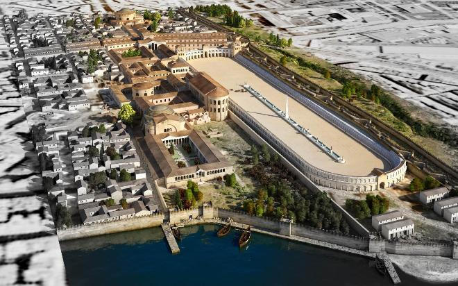 Πώς θα ήταν η Θεσσαλονίκη με τα μεγαλοπρεπή μνημεία που χτίστηκαν την εποχή του Γαλέριου. Εντυπωσιάζει η ψηφιακή αναπαράσταση της πόλης του 4ου αιώνα μ.Χ  (βίντεο)