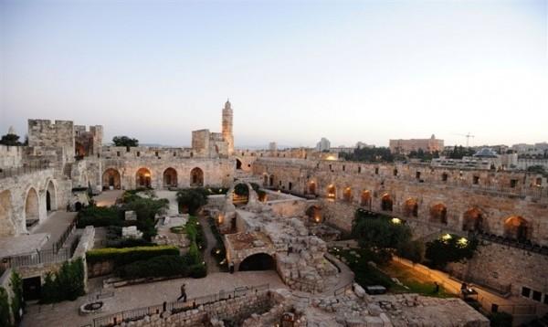 Ο Πύργος του Δαυίδ στη Ιερουσαλήμ