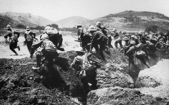 Η Μάχη της Καλλίπολης που θα απέτρεπε την γενοκτονία των Ποντίων και των Αρμενίων, αν δεν κατέληγε σε νίκη των Οθωμανών και οδυνηρή θυσία χιλιάδων Αυστραλών
