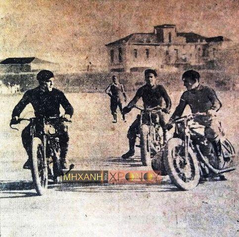 """Κι όμως, στην Ελλάδα υπήρξε και ποδόσφαιρο με μοτοσυκλέτες. To extreme sport της παλιάς Αθήνας και το ντέρμπι μεταξύ Πράσινων και Κόκκινων που """"γοήτευσε τας νεαράς κοπέλας"""""""