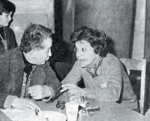 Ο Κώστας Ταχτσής και η Ρένα Βλαχοπούλου συζητούν για τη Νίνα, τη μία από τις δύο ηρωίδες στο «Τρίτο στεφάνι».