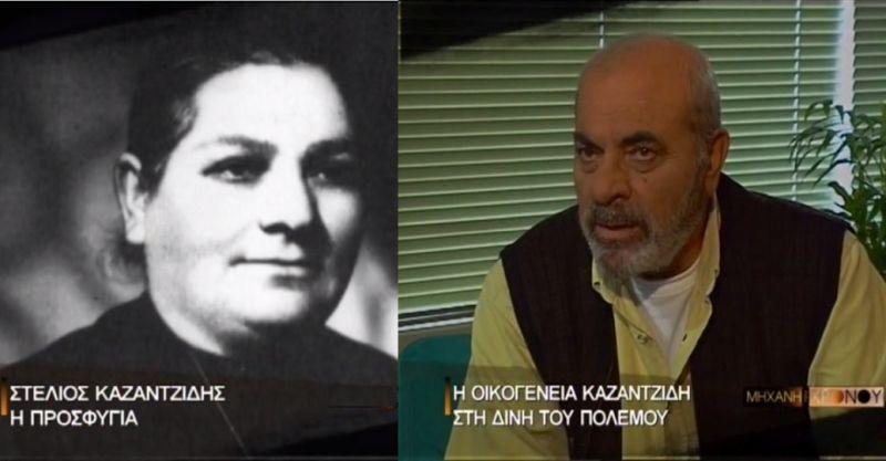 """Ο Στέλιος ήταν το """"θαύμα"""" που περίμενε η μητέρα του γιατί είχε χάσει πέντε παιδιά. Ο Καζαντζίδης μιλά για τα δύσκολα παιδικά χρόνια και τον βασανισμό του πατέρα του από τους ταγματασφαλίτες (βίντεο)"""