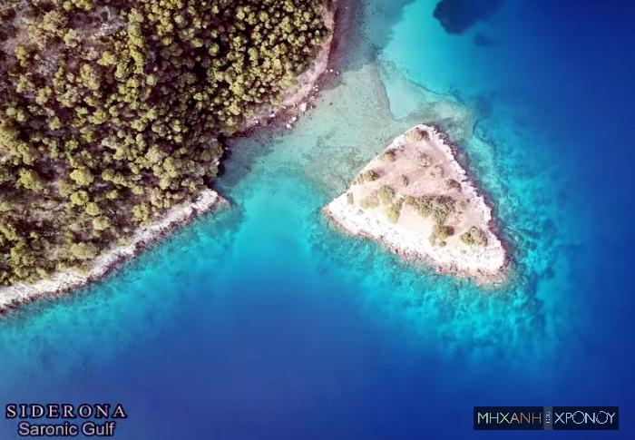 """Το νησάκι μέσα στο απίστευτo γαλάζιο που ονομάστηκε σε """"νησί των βρικολάκων"""". Όλα ξεκίνησαν όταν έθαψαν 3 κατοίκους που πνίγηκαν. Γιατί επενέβη η Ιερά Σύνοδος (βίντεο drone)"""