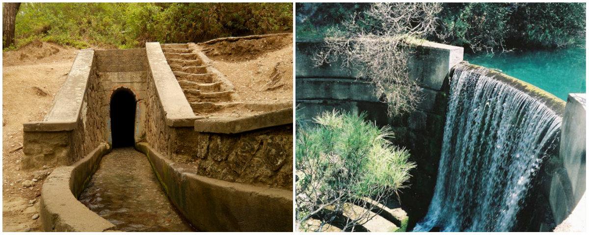 """Δείτε το τούνελ της Ρόδου που σε ταξιδεύει σε μια άλλη """"διάσταση"""". Οι επισκέπτες μπαίνουν στη σήραγγα, ακολουθούν την πορεία του νερού και καταλήγουν σε μια λίμνη με καταρράκτη (βίντεο)"""