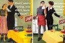 """""""Oι άνδρες είναι για την κουζίνα"""". Φωτογράφος αντιστρέφει τις σεξιστικές διαφημίσεις του 1950  σε βάρος των ανδρών. Το αποτέλεσμα είναι άκρως εντυπωσιακό (Φωτογραφίες)"""