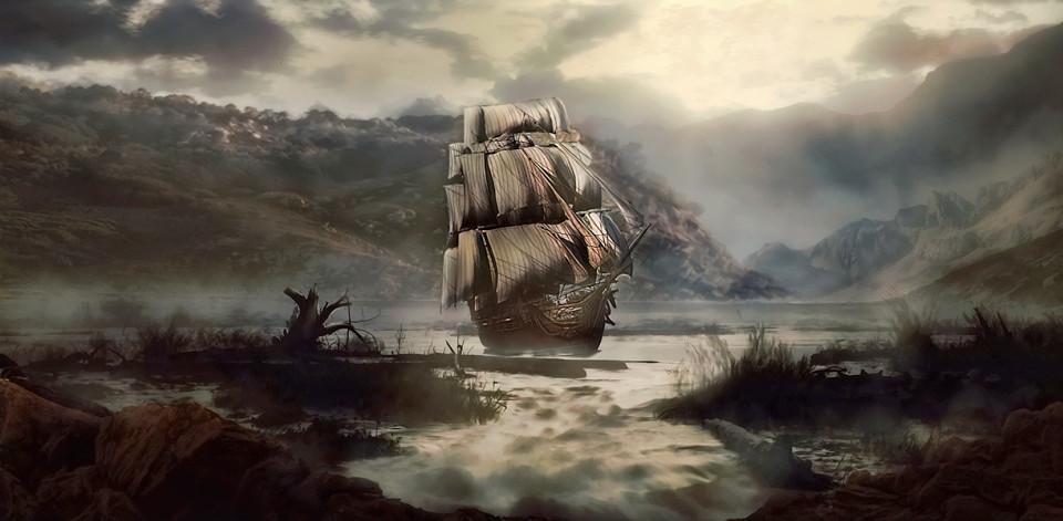 """""""Lady Lovibond"""". Το θρυλικό ιστιοφόρο που βυθίστηκε στον """"τάφο"""" της Μάγχης από τη ζήλια ενός ναυτικού για την γυναίκα του καπετάνιου του. Ο θρύλος για το πλοίο-φάντασμα που επανεμφανίζεται κάθε 50 χρόνια"""
