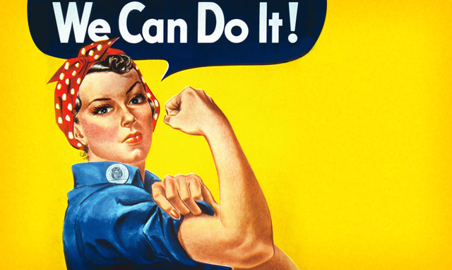 Ποια είναι η γυναίκα που ενέπνευσε τη διάσημη αμερικανική αφίσα του Β΄ Παγκοσμίου Πολέμου. Έγινε σύμβολο του φεμινιστικού κινήματος και συνδέθηκε με την Παγκόσμια Ημέρα της Γυναίκας