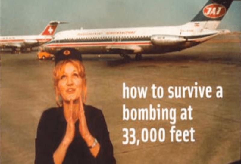 Η νεαρή Σέρβα αεροσυνοδός που έπεσε από τα 33.000 πόδια και επέζησε. Το αεροπλάνο ανατινάχτηκε στον αέρα από κροατική φασιστική οργάνωση και ήταν η μόνη που γλίτωσε