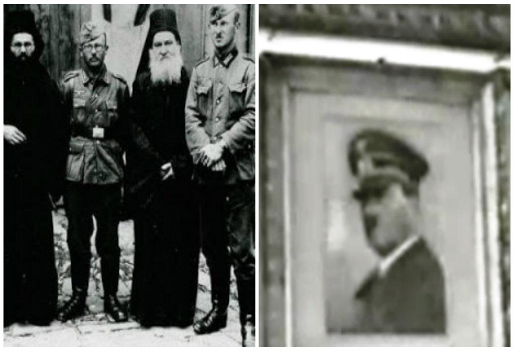 Η επιστολή των μοναχών του Άγιου Όρους στον Χίτλερ. Του ζητούσαν να προστατέψει τις μονές από τη βουλγαρική απειλή. Γιατί κρέμασαν πορτραίτο του στην Μονή Αγίου Παντελεήμονος