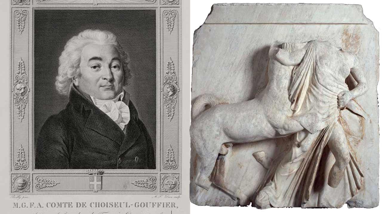 Γλυπτά του Παρθενώνα έχει και το Λούβρο. Η πρώτη αρπαγή έγινε πριν από τον Έλγιν για λογαριασμό του Γάλλου πρεσβευτή Γκουφιέ. Πως θα επιστρέψουν στην Ελλάδα