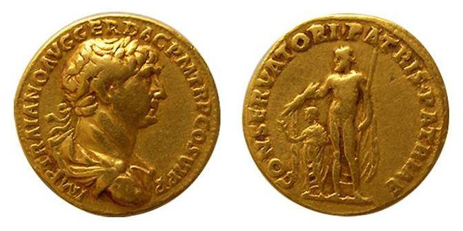 """Ένα """"θαύμα"""" που απεικονίστηκε σε ρωμαϊκά νομίσματα. Πώς ο αυτοκράτορας πήδηξε από παράθυρο της βίλας και σώθηκε από τον σεισμό"""