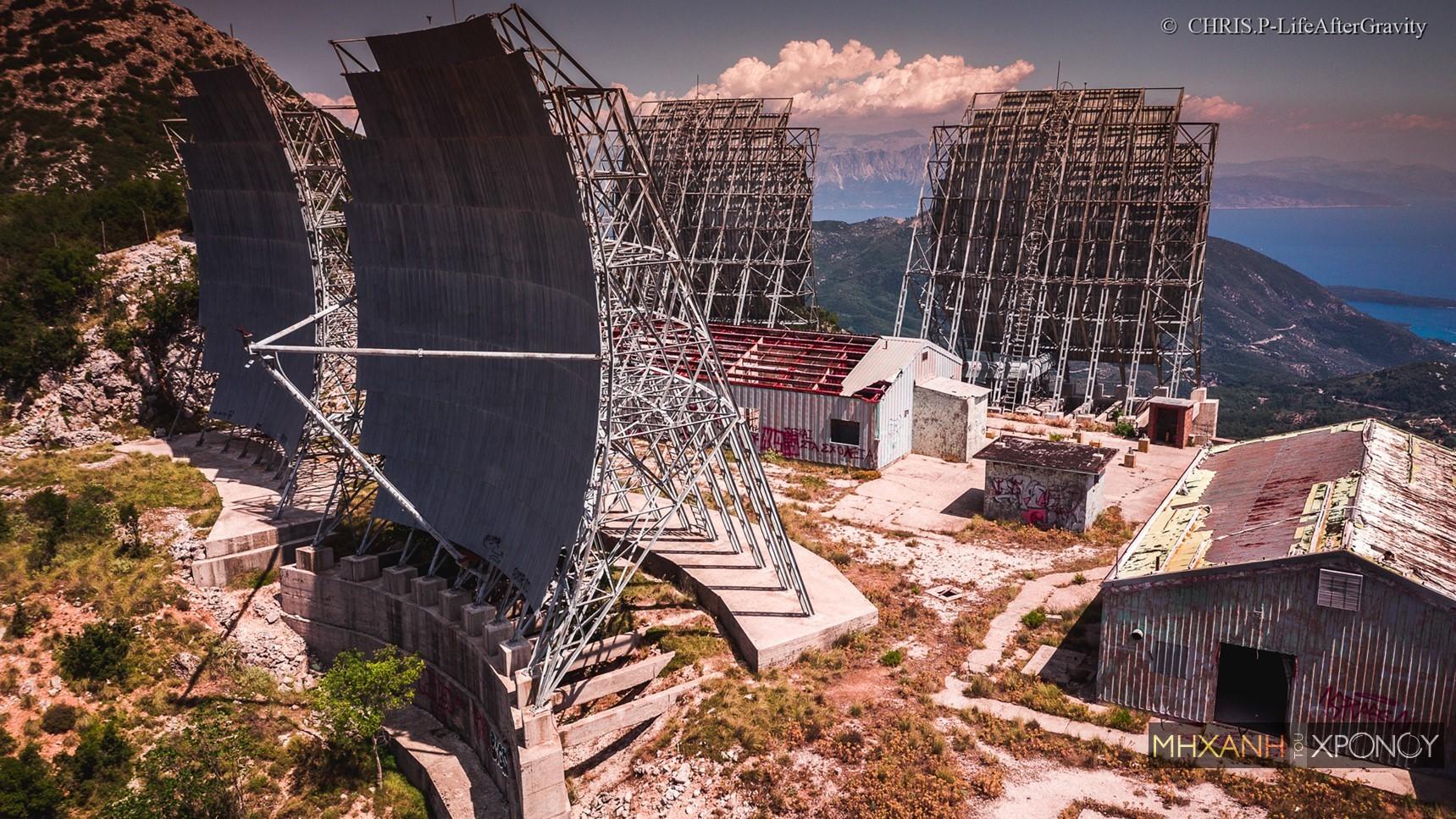 Η αμερικανική βάση-φάντασμα της Λευκάδας. Γιατί δεν έχει σκουριάσει ούτε βίδα από τα πελώρια ραντάρ (drone)