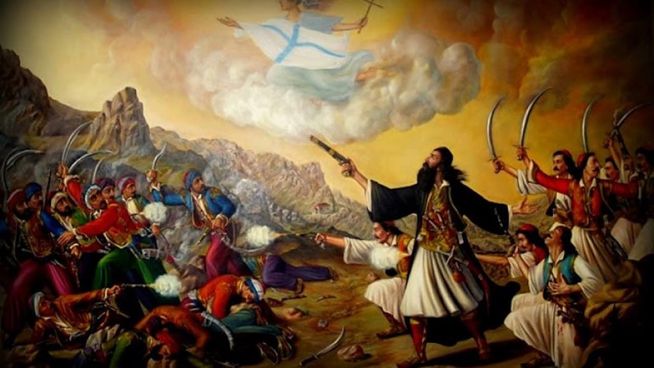 Η επανάσταση στην Κρήτη που ξεσηκώθηκε το 1821. Οι Τούρκοι ξέσπασαν στους άμαχους