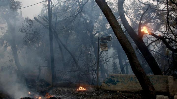 Με ένα μέτωπο ενεργό η φωτιά στη Βαρυμπόμπη. «Μάχη» και από αέρα για να οριοθετηθεί- Ανυπολόγιστες καταστροφές