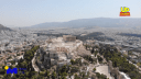 «Φλέγεται» και η Ακρόπολη. Δείτε τι κατέγραψε θερμική κάμερα από drone με θερμοκρασίες πάνω από 55 βαθμούς