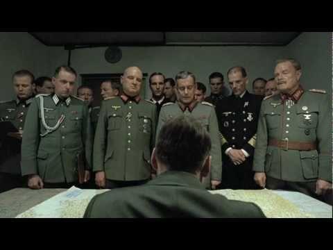 """""""Δειλοί, ηλίθιοι και άχρηστοι"""". Τι λέει ο Χίτλερ για τους στρατηγούς του στην περίφημη σκηνή της ταινίας «Η πτώση»"""