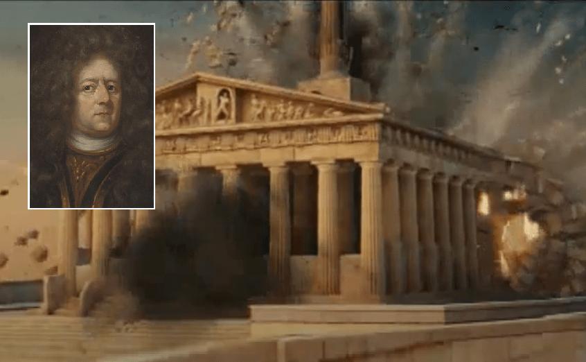 Ο Γερμανός που στόχευσε τον Παρθενώνα και κατέστρεψε το παγκόσμιο σύμβολο του πολιτισμού