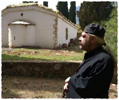 Ο ατρόμητος παπάς που πολέμησε τους τουρκαλβανούς Λαλαίους. Στη μάχη έχασε το μισό ράσο από γιαταγάνι και ονομάστηκε παπακολοβός