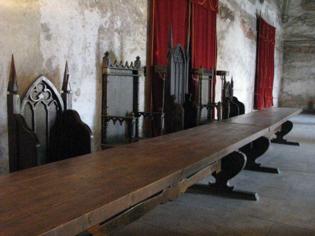 castelul corvinilor-interior