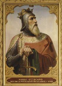 Robert Guiscard ,conducatorul normanzilor