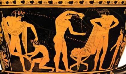 stiati ca . palestrele in grecia antica