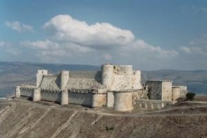 krak des chevaliers ,cetatea cavalerilor templieri