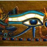 horus ,cel ce ocroteste faraonul