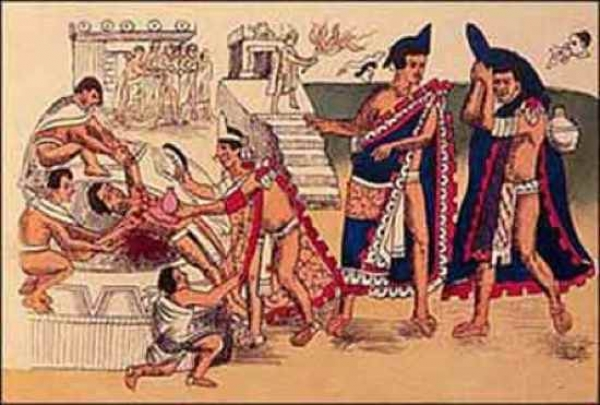 sacrificiu uman la azteci