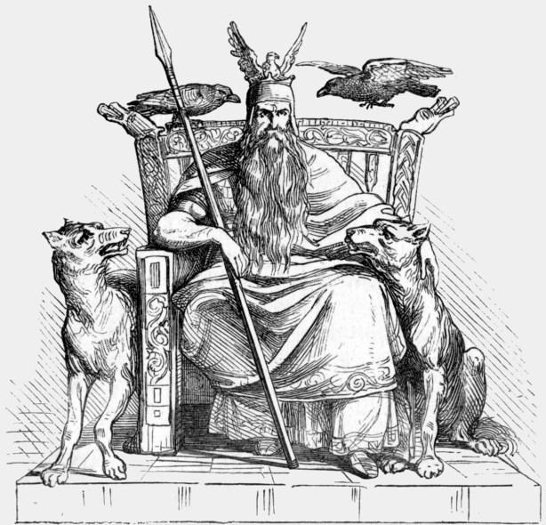 Odin ,zeul suprem al scandinavilor