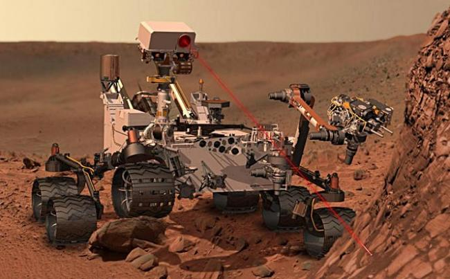 curiosity si planeta Marte