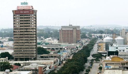 Lusaka ,capitala Zambiei